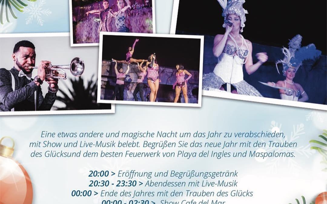 Sag #aufWiedersehen zu #Silvester mit uns!! #Show und #LiveMusik, #Trauben des #Glücks #Feuerwerk Reservierungen: 637.884.020