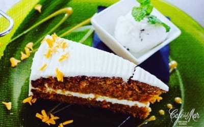 It's time for the #CarrotCake! ??? #CafédelMar #Meloneras #GranCanaria  #club #restaurant #cabaret
